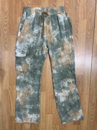 Tie Dye Cargo Pants