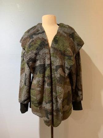 Camo Teddy Bear Coat