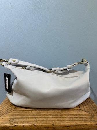 Light Grey Suzy Convertible Hobo Bag
