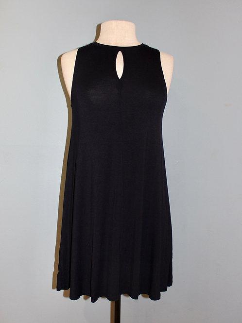 keyhole knit tank dress