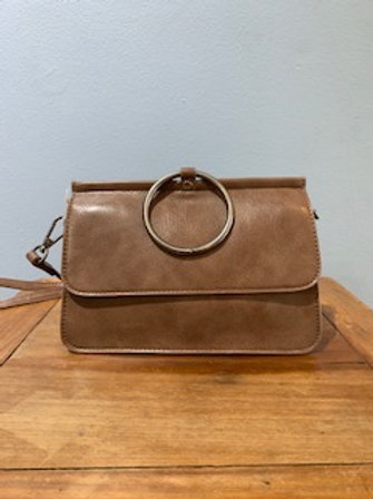 Ava Convertible Bag Taupe