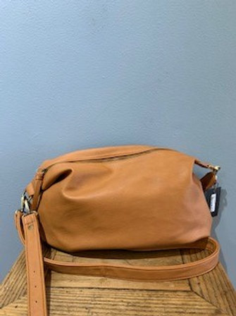 Camel Suzy Convertible Hobo Bag