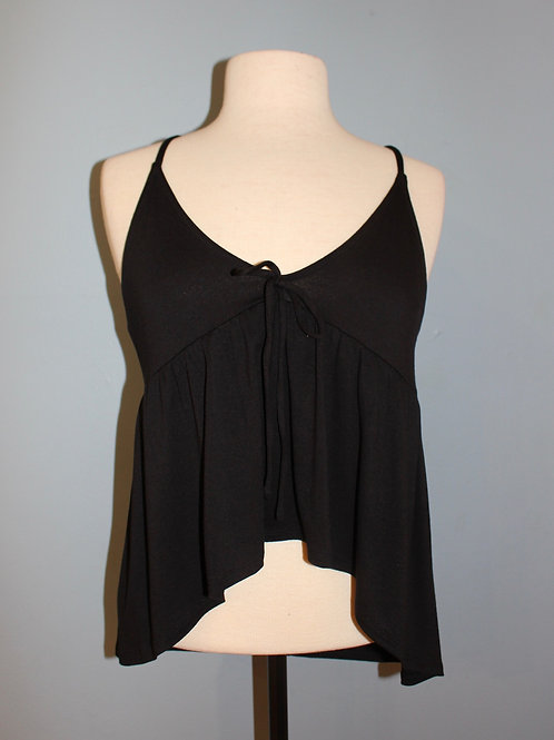 tie front babydoll tank