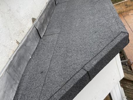 3 layer felt flat roofs
