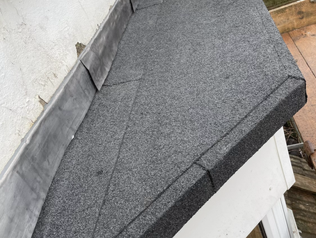Small flat roof