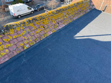 A flat roof renewal in hove