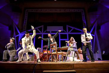 Threepenny Opera at Everyman Rep