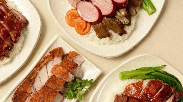 C3. 金牌四寶飯 (切雞、叉燒、燒肉、咸蛋)