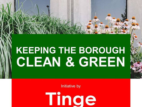 Keeping the Borough Clean & Green: A Tinge Group initiative