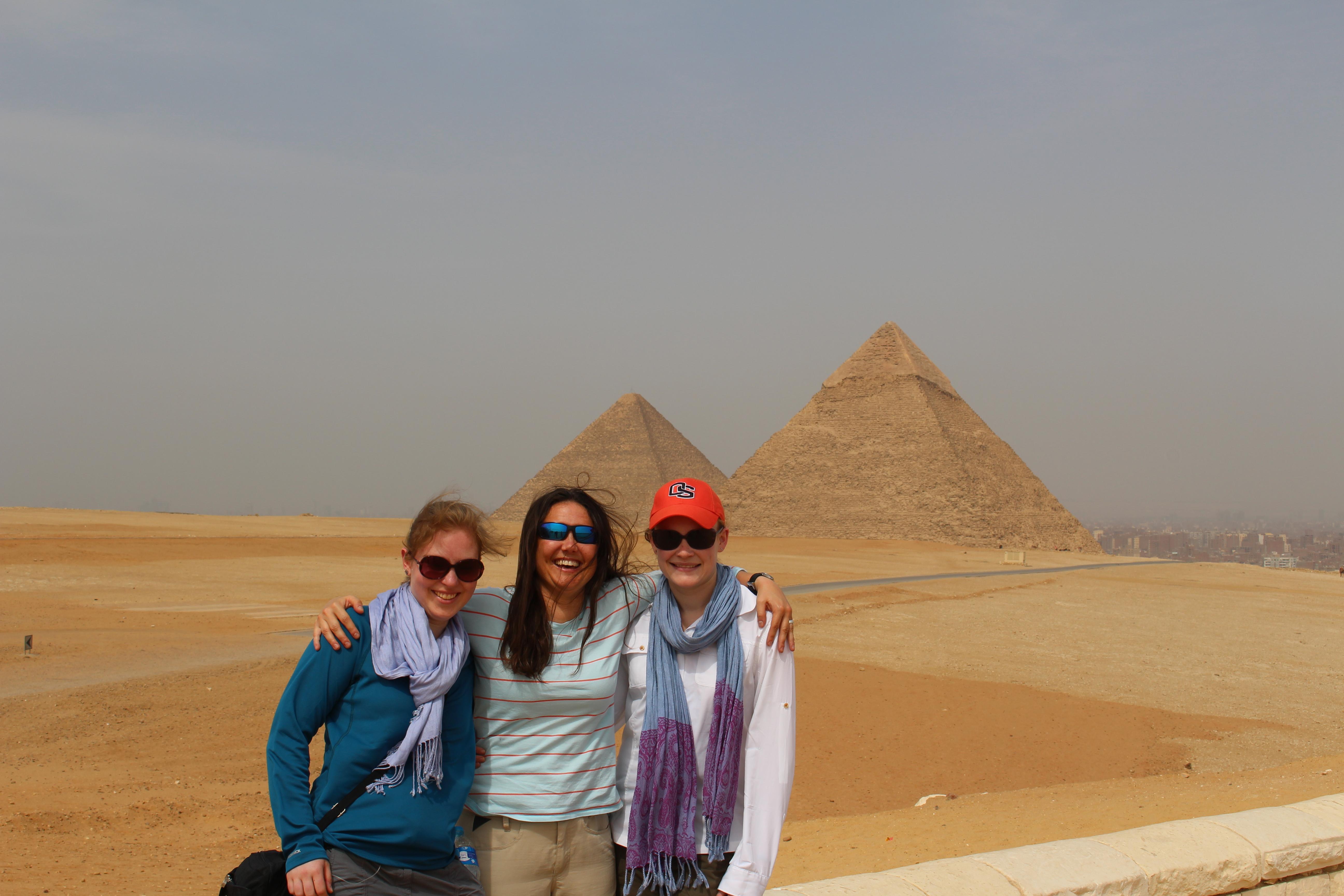 Peyton lab at the Pyramids 2015