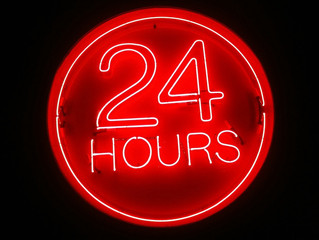 We are now open 24 hours. This will allow offices to book for late cleans after office hours!