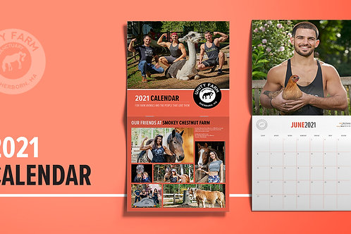 2021 Friends of Farm Animals Calendar