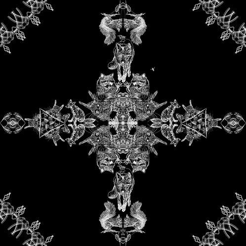 Wildlife Ornament 100 x 100 cm