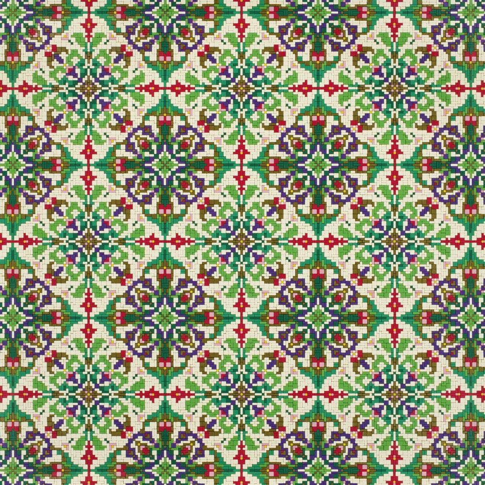 Mosaic Ornament 01.10