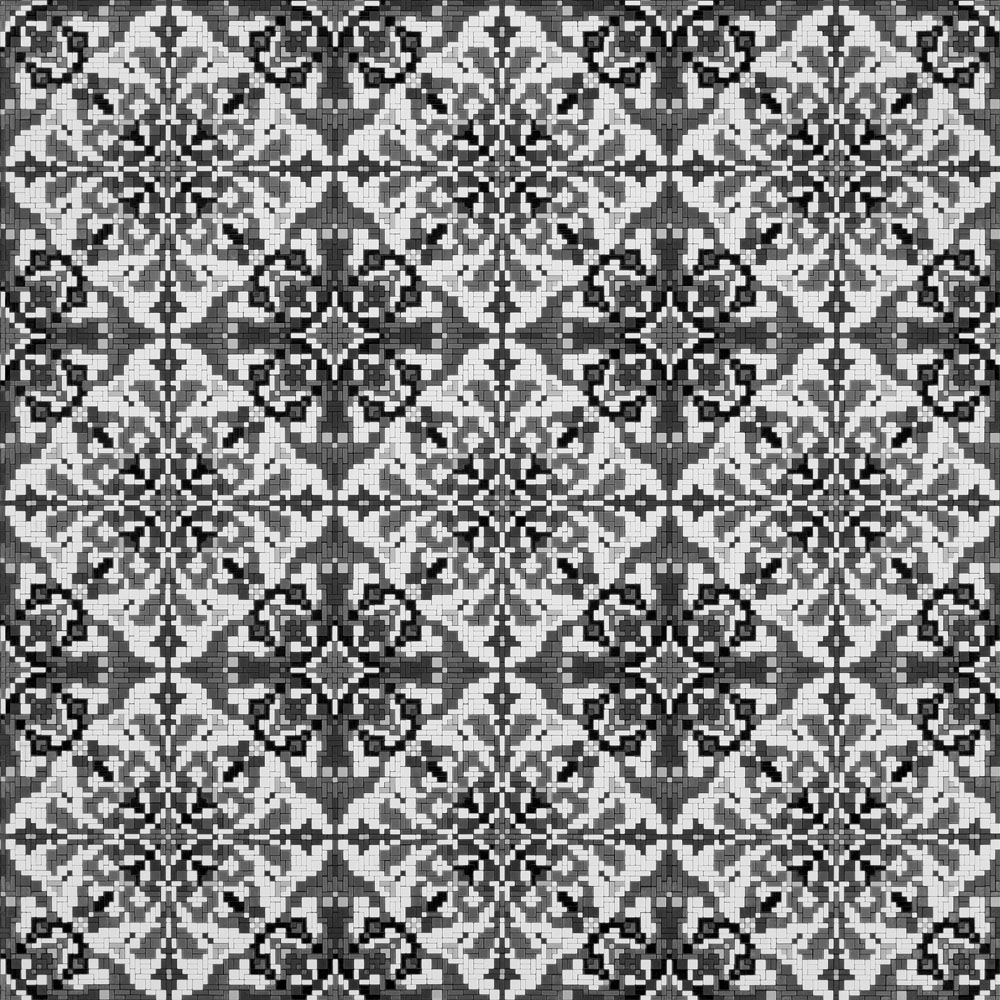 Mosaic-Ornament_01.01_B&W
