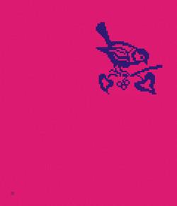 1x_Kreuzstich_Vogel-auf-Ast_Taipeh_240x280cm_pink