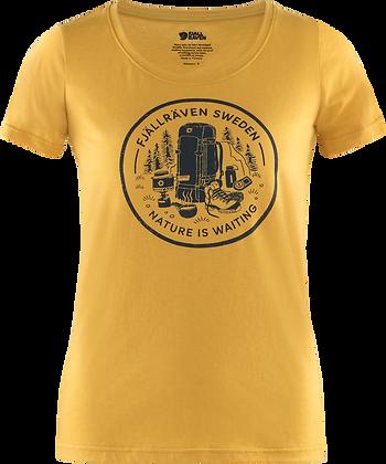 Fjällräven Fikapaus T Shirt Damen