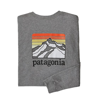 Patagonia Mens L. Logo Ridge L/S  Shirt Herren