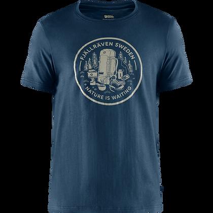 Fjällräven Fikapaus T Shirt Herren