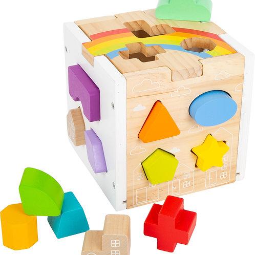 Shape Fitting Cube Rainbow