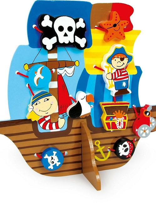 Threading Pirate Ship