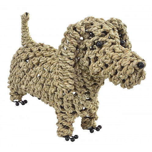 Standing Seagrass Dog