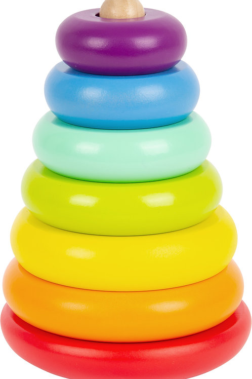 Rainbow Stacking Tower