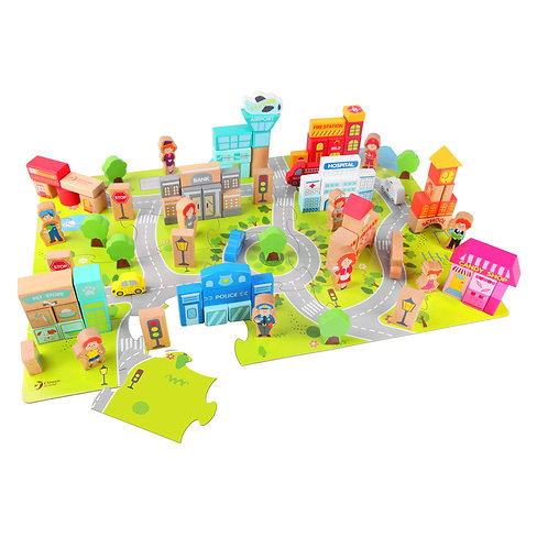 CLASSIC WORLD CITY BUILDING BLOCKS