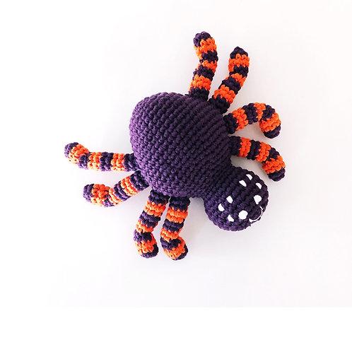 Bug Rattle Spider Pruple