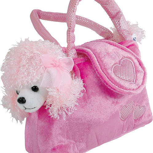 Poodle in a Bag