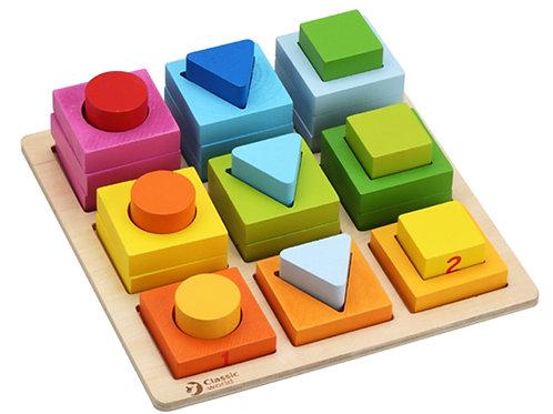 CLASSIC WORLD GEOMETRIC PUZZLE