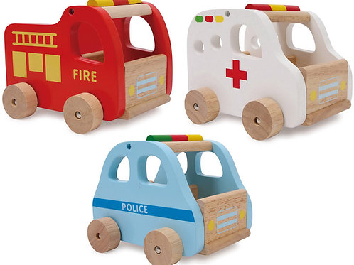 Rescue Cars Set of 3