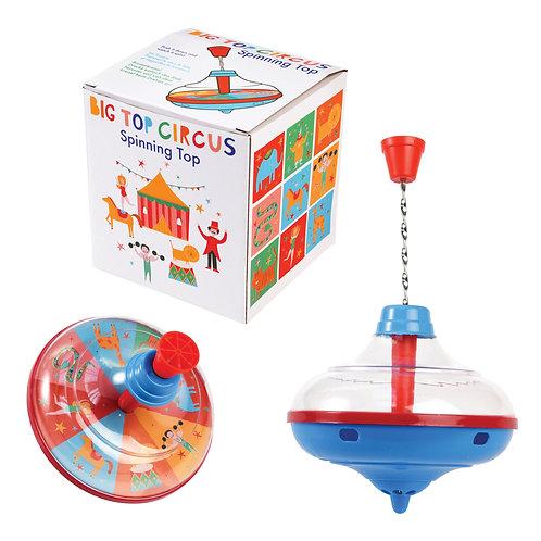 Big Top Circus Spinning Top