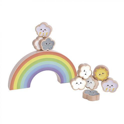 Classic World Rainbow Balance Game