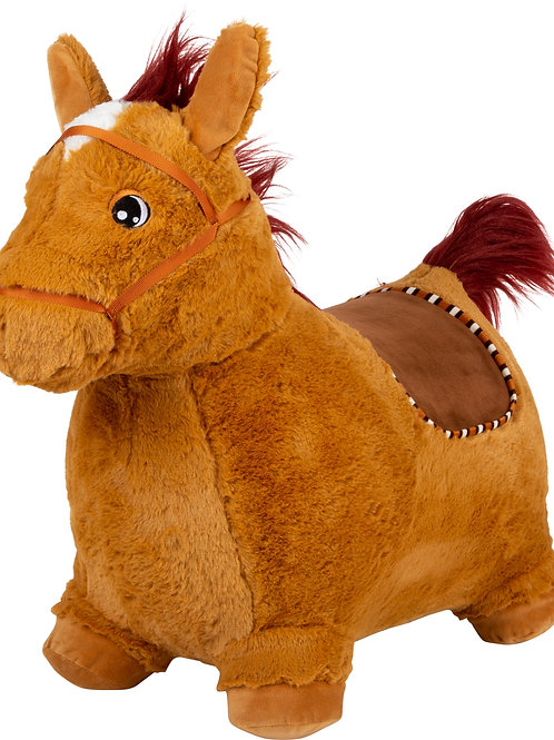 Hopping Plush Horse