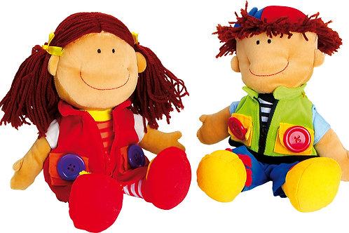 "Rag Dolls ""Nicoletta and David"""