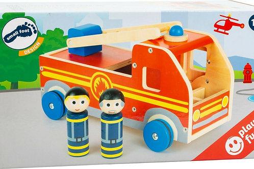 XL Wooden Toy Fire Engine