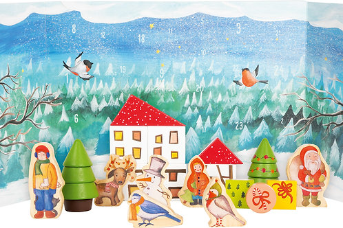 Winter Forest Advent Calendar