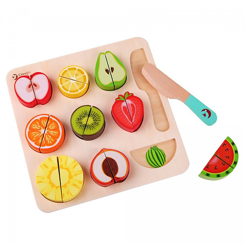 CLASSIC WORLD CUTTING PUZZLES FRUIT