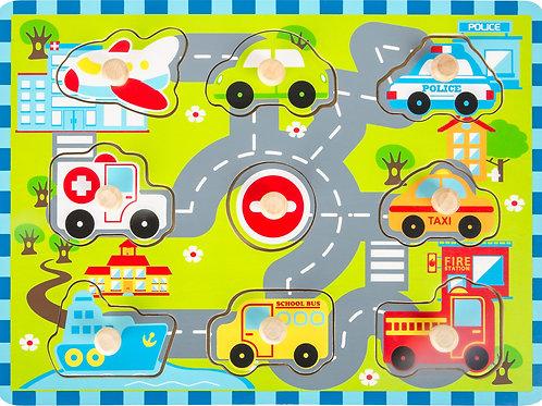 Puzzle City Traffic