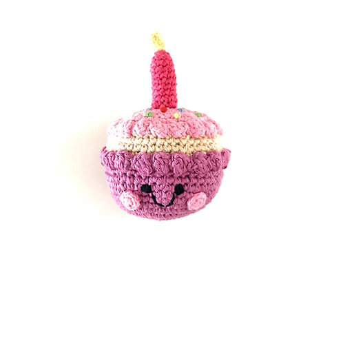 Friendly Candle Cupcake Mulberry