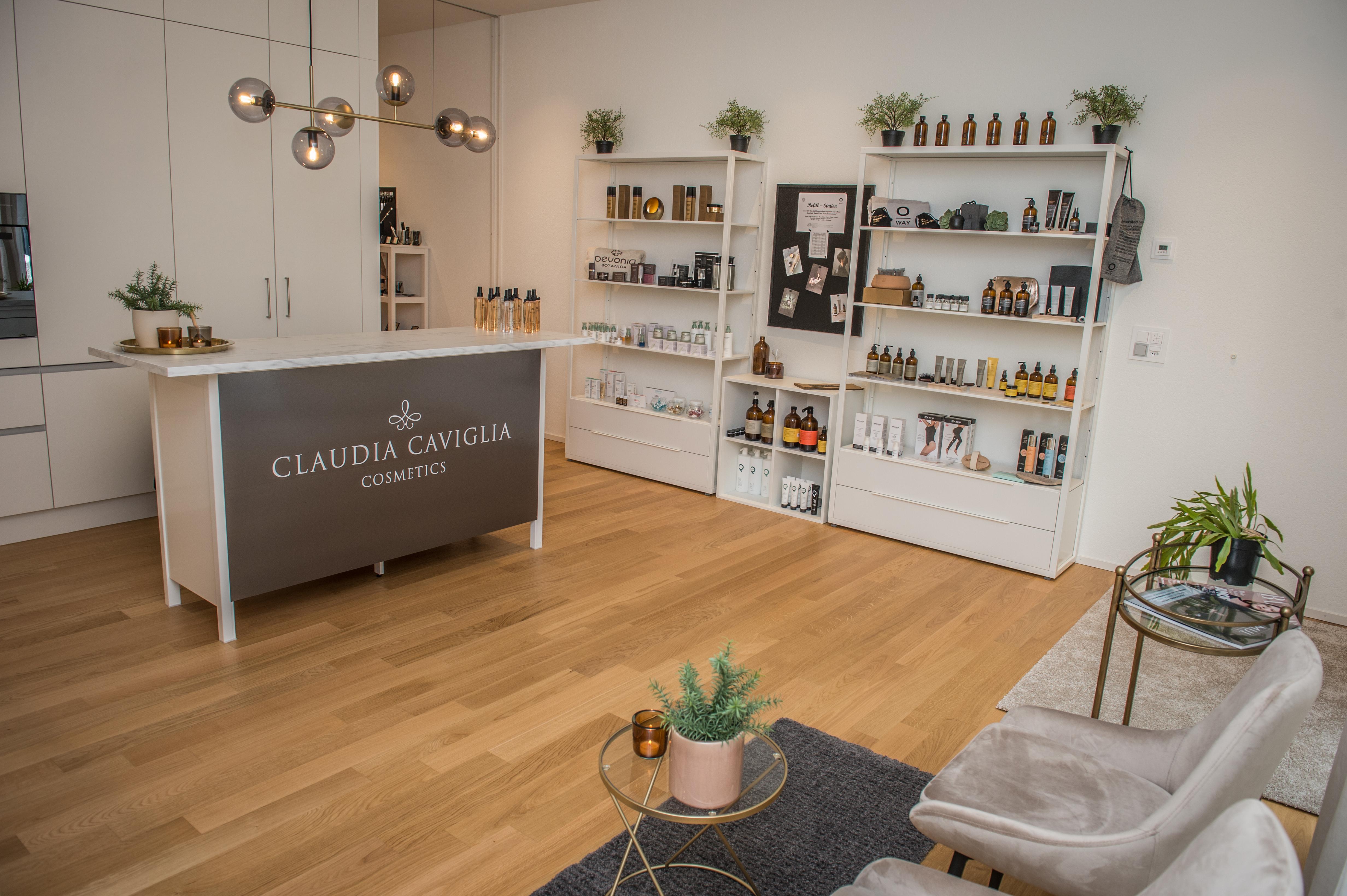Beauty-Shop und Empfang