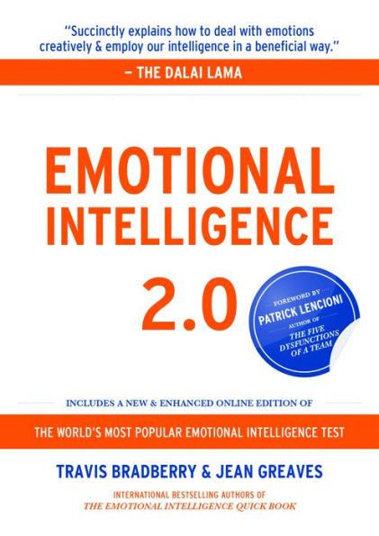 Emotional Intelligence 2.0 With Access Code - PGW - by Travis Bradberry, Jean Greaves, Patrick M Len