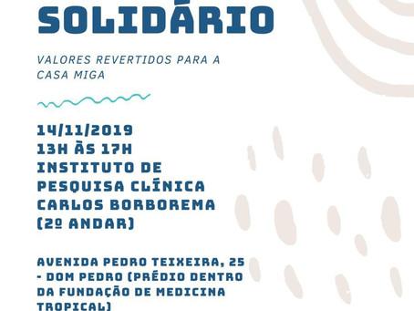 Bazar Solidário IPCCB e Casa Miga