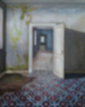 Carina Klein, Her Rooms, 40 x 30 cm, Acr