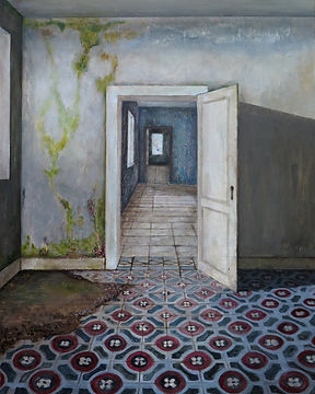 Carina Klein, Her Rooms, 40 x 30 cm, Acr