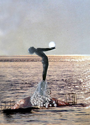 Daughter of the Sea, Collage