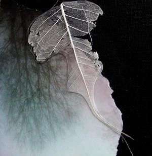 Skeleton Leaf, Collage