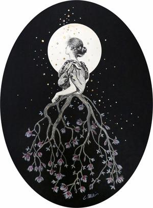 Magnolia Moon, Collage