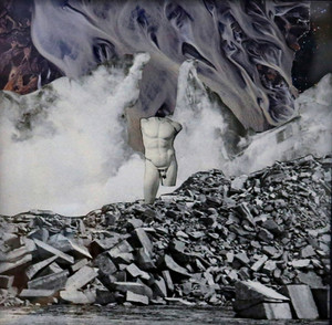 Apollo amidst the destruction he caused, Collage